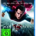 Platz 5 auf den BluRay Charts - Man of Steel