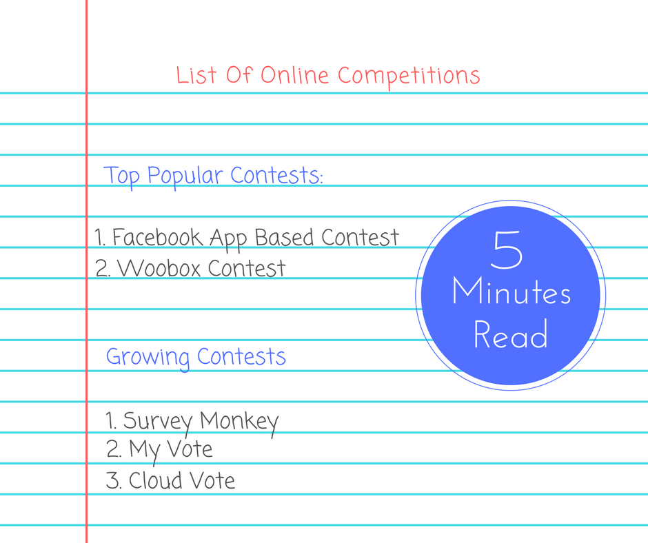 List of popular voting competitions online – Filmtipps tv