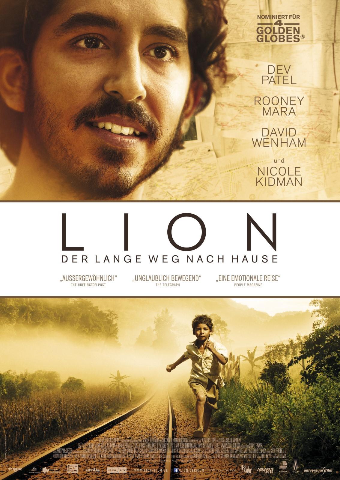 Filmtipp - Lion - Filmtipps.tv